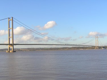 Photo of the Humber Bridge